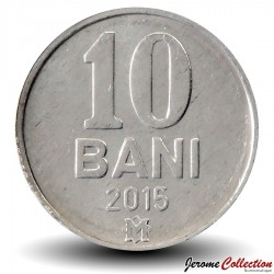 MOLDAVIE - PIECE de 10 Bani - 2015 Km#7