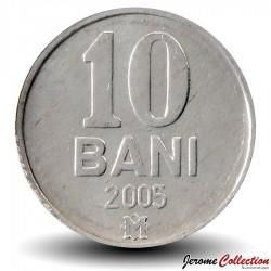 MOLDAVIE - PIECE de 10 Bani - 2005 Km#7