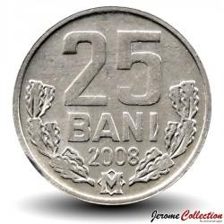 MOLDAVIE - PIECE de 25 Bani - 2008 Km#3
