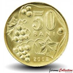 MOLDAVIE - PIECE de 50 Bani - 2008 Km#10