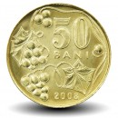 MOLDAVIE - PIECE de 50 Bani - 2008