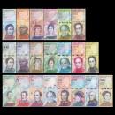 VENEZUELA - SET / LOT de 21 Billets Différents - Animaux - 2007 / 2018