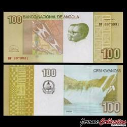 ANGOLA - Billet de 100 Kwanzas - Cascades de Binga - 2012 P153b