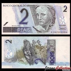 BRESIL - Billet de 2 Reais - Tortue de Mer - 2001 P249a