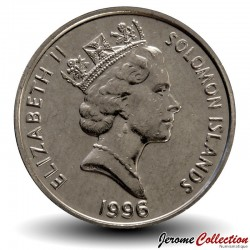 SALOMON - PIECE de 5 Cents - Masque primitif - 1996