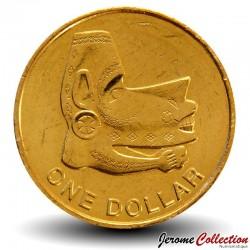SALOMON - PIECE de 1 Dollar - Statue Nguzu Nguzu - 2012 Km#238