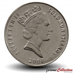 SALOMON - PIECE de 20 Cents - Ornement pendentif traditionel - 2008
