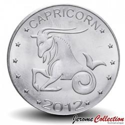 SOMALILAND - PIECE de 10 Shillings - Signe du Zodiaque - Capricorne - 2012 Km#new