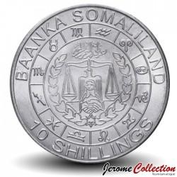 SOMALILAND - PIECE de 10 Shillings - Signe du Zodiaque - Capricorne - 2012