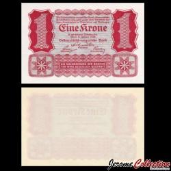 AUTRICHE / Oesterreichische Geschäftsführung - Billet de 1 Krone - 1922 P73a