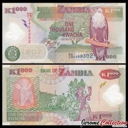 ZAMBIE - Billet de 1000 Kwacha - Polymer - 2009 P44g