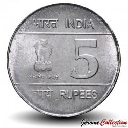 INDE - PIECE de 5 Roupies - Shaheed Bhagat Singh - 2007