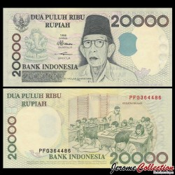 INDONESIE - Billet de 20000 Rupiah - Ki Hadjar Dewantara - 1998 / 2004 P138g