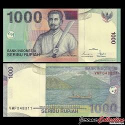 INDONESIE - Billet de 1000 Rupiah - 2001 P141b