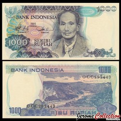 INDONESIE - Billet de 1000 Rupiah - Dr. Soetomo - 1980 P119a