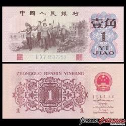 CHINE - BILLET de 1 Yuan - Ouvriers - 1962 P877c