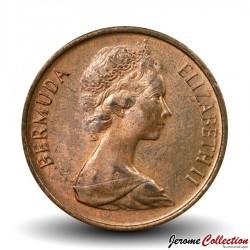 BERMUDES - PIECE de 1 Cent - Petit Sanglier - 1971