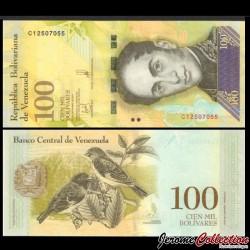 VENEZUELA - Billet de 100000 Bolivares - 13.12.2017 P100b3