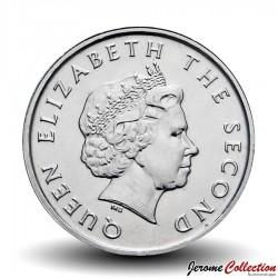 CARAIBE ORIENTALE - PIECE de 10 Cents - Bateau