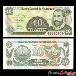 NICARAGUA - Billet de 10 Centavos de Córdoba - 1991 P169a(1)