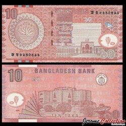 BANGLADESH - Billet de 10 Taka - Assemblée nationale - 2005 P39d