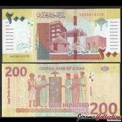 SOUDAN - BILLET de 200 Livres Soudanaise - 2019 Pnew