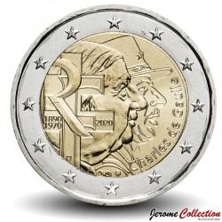 FRANCE - PIÈCE de 2 Euro - Charles de Gaulle - 2020 Km#New