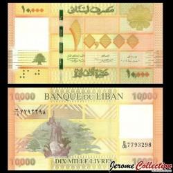 LIBAN - Billet de 10000 Livres - 2014 P92b
