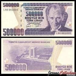 TURQUIE - Billet de 500000 Nouvelle Livre Turque - 2006 P212a2
