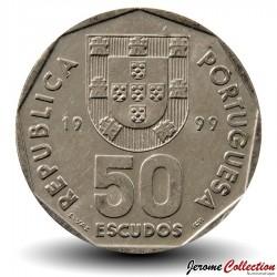 PORTUGAL - PIECE de 50 Escudos - Bateau à voile - 1999