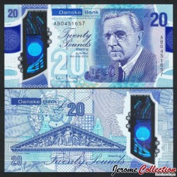 IRLANDE DU NORD - Danske Bank - 20 Pounds - Polymer - Henry Ferguson - 2017 / 2020 P215a