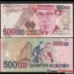 BRESIL - Billet de 50000 Cruzeiros - Mário Raúl de Morais Andrade - 1993 P236b