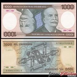 BRESIL - Billet de 1000 Cruzeiros - Barão do Río Branco - 1985 P201c