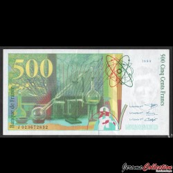 FRANCE - BILLET de 500 Francs - Pierre & Marie Curie - 1994