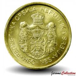 SERBIE - PIECE de 1 Dinar - Banque Nationale de Serbie - 2019