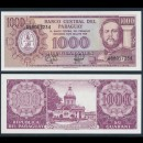 PARAGUAY - Billet de 1000 Guaranies - 1995
