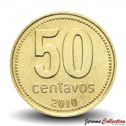 ARGENTINE - PIECE de 50 Centavos - 2009