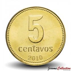 ARGENTINE - PIECE de 5 Centavos - 2010