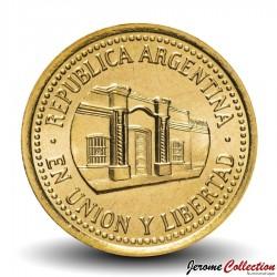 ARGENTINE - PIECE de 50 Centavos - 2010 Km#111.1