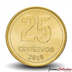 ARGENTINE - PIECE de 25 Centavos - Le Cabildo - 2010