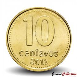 ARGENTINE - PIECE de 10 Centavos - 2011