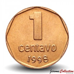 ARGENTINE - PIECE de 1 Centavo - 2000