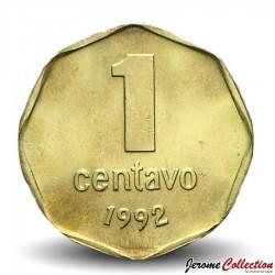 ARGENTINE - PIECE de 1 Centavo - 1992