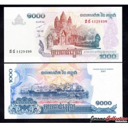 CAMBODGE - BILLET de 1000 Riels - 2007