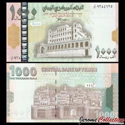 YEMEN - Billet de 1000 Rials - Palais du sultan - 1998 P32a
