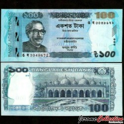 BANGLADESH - Billet de 100 Taka - Star Mosque - 2018 P57h