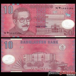 BANGLADESH - Billet de 10 Taka - Assemblée nationale - POLYMER - 2005 P35a