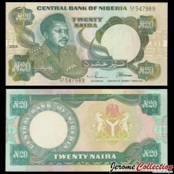 NIGERIA - Billet de 20 Naira - Général Murtala Ramad Muhammed - 2004 P26h2