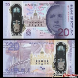 ECOSSE / Bank of Scotland - Billet de 20 Pounds - Commémoratif Queensferry-Crossing - 2019 P133a2