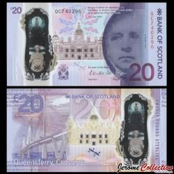 ECOSSE / Bank of Scotland - Billet de 20 Pounds - Commémoratif Queensferry-Crossing - 2019 P133a2